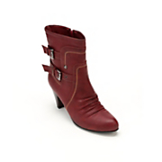 vanessa double buckle bootie by monroe and main