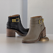 raisa buckle bootie by lucky brand
