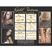 gold tattoo exquisite collection