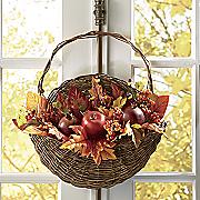 fall foliage basket