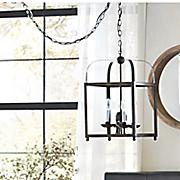 antiqued chandelier