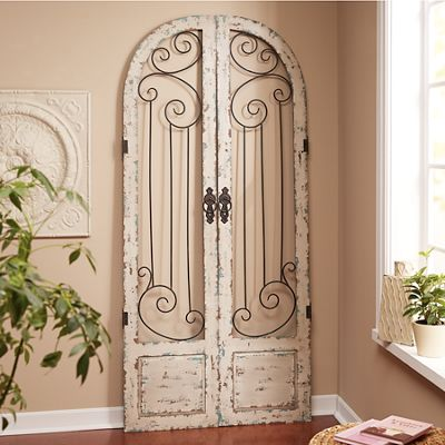 Set Of 2 Scrolled Shutters From Through The Country Door