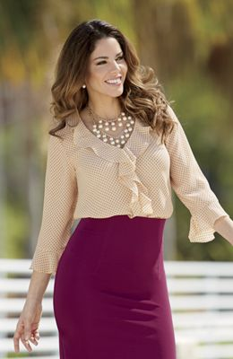 French Flair Blouse