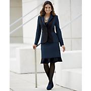 Blue-Black Suit