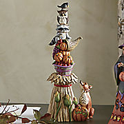 stacked harvest figurine by jim shore