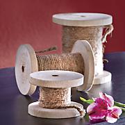 set of 3 decorative spools