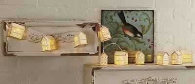 Decorative Houses Light Strand