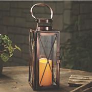 large metal led lantern