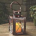 Small Metal LED Lantern
