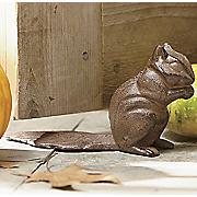 squirrel doorstop