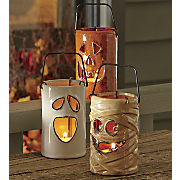 set of 3 halloween lanterns