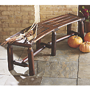 Backless Curved Bench