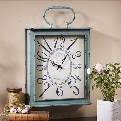 Distressed Clock from Midnight Velvet 725627
