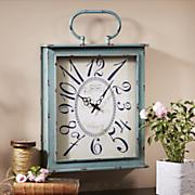 distressed clock