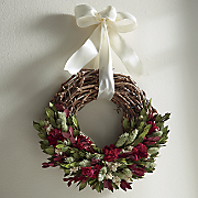 freshness in fall wreath