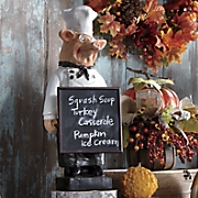 Pig Chef Chalkboard