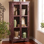 rustic 2 door cabinet