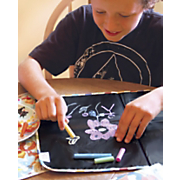 reversible chalkboard placemat