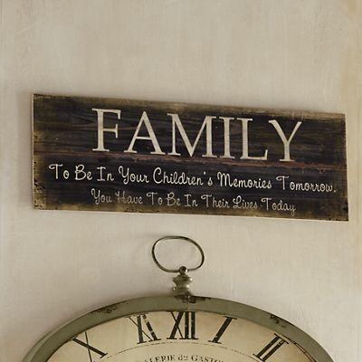 """Family"" Plaque"