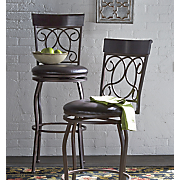 tuscan swivel bar stool 2