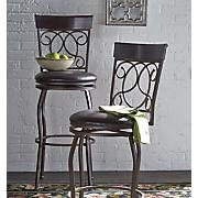 tuscan swivel bar stool 2
