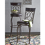 tuscan swivel bar stools