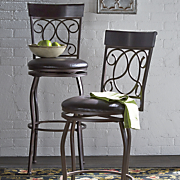tuscan swivel bar stool 1