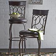 tuscan swivel bar stool 1