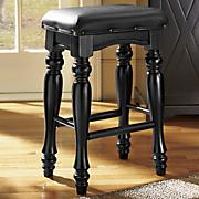 turned legs stool