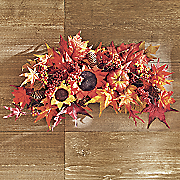 fall sunflower swag