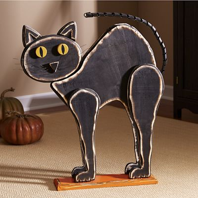 Arched-Back Cat