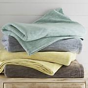 Marled Fleece Blanket