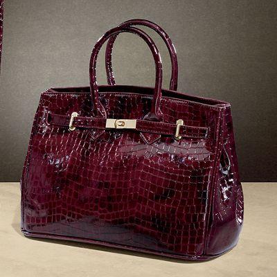 Mackenzie Croc Bag