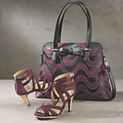 Rose Wrap Bag and Shoe