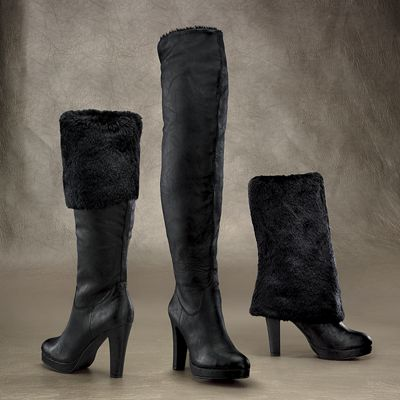 3 in 1 Moscow Faux-Fur Boot