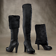 3 in 1 moscow faux fur boot