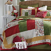 Christmas Dreams Quilt and Sham