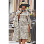 Luella Hat and Leyla Jacket Dress