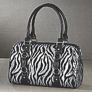 Boston Zebra Bag