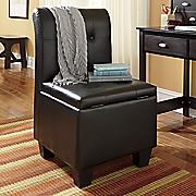 Parsons Storage Chair