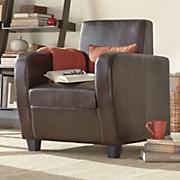 Club Chair with Hidden Storage