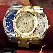 Men's Round Bracelet Watch by Pulsar