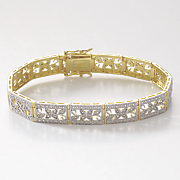 vintage rectangle bracelet