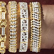 vintage rectangle bracelet