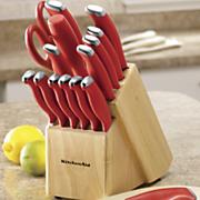 16 pc  cutlery set by kitchenaid
