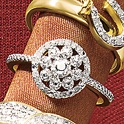 vintage round ring