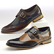 Stratford Monk-Strap Shoe by Stacy Adams