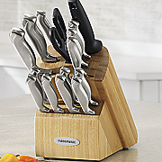 17 pc  hollow handle cutlery set by farberware