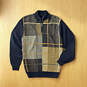 chevron block sweater by steve harvey