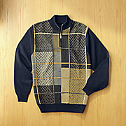 chevron block sweater by steve harvey